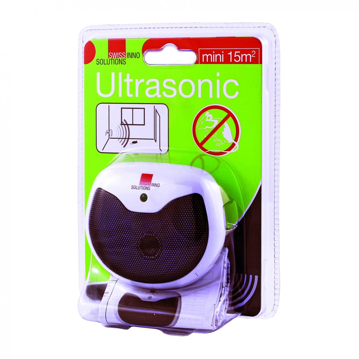 SWISSINNO Grauzēju atbaidītājs Ultrasonic Mini