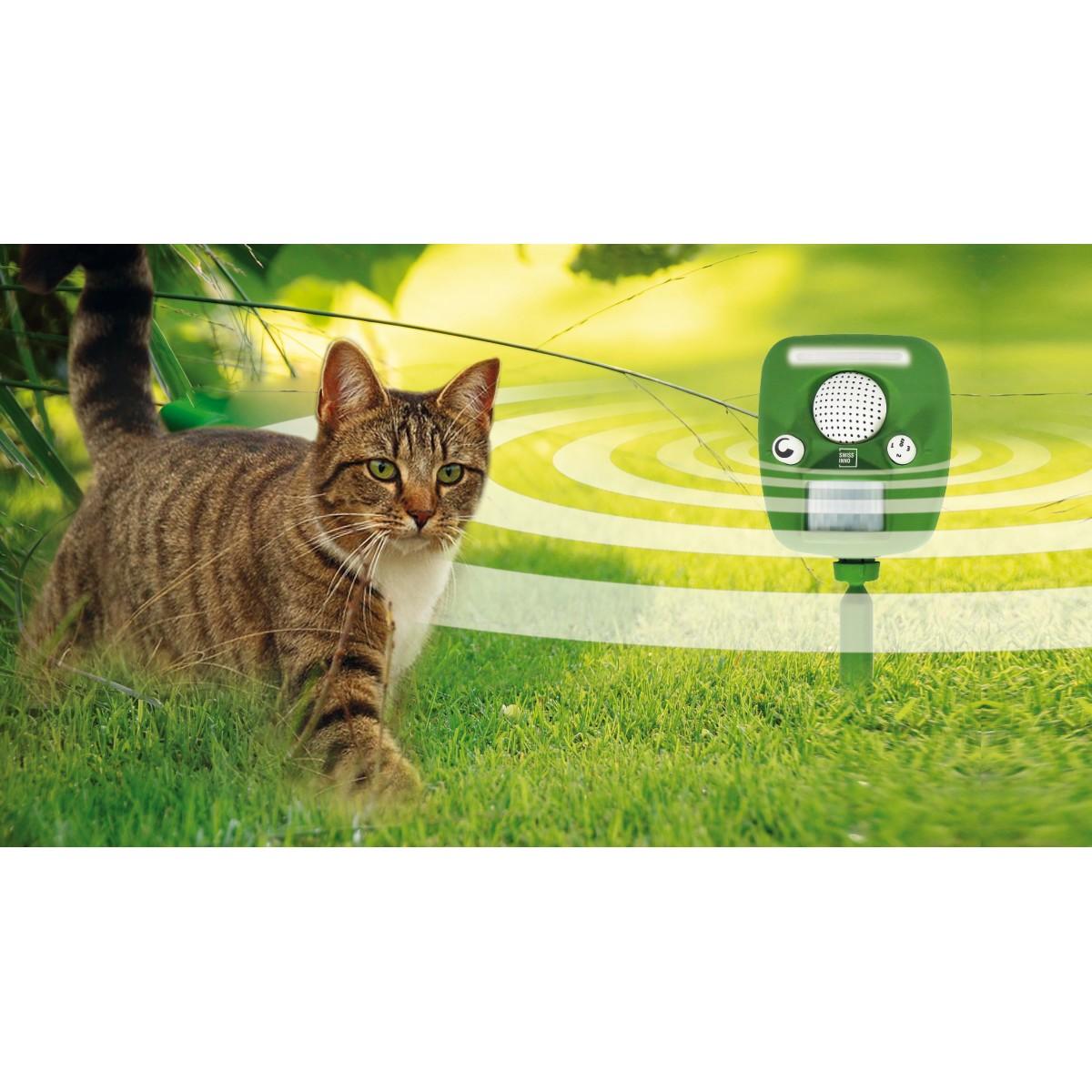 Ultraskaņas un gaismas dzīvnieku atbaidītājs Swissinno PRO